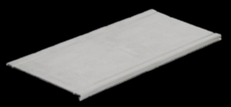 Крышка на лоток основание 050 горячеоцинкованная (CLP1K-050-3-M-HDZ)