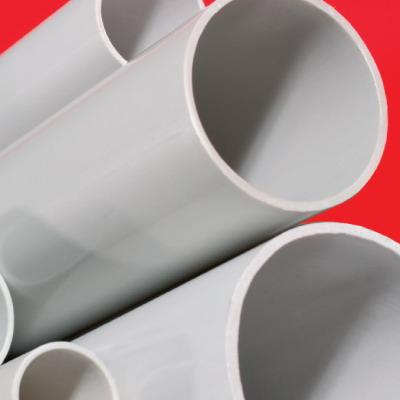 Труба гладкая жесткая ПВХ 32 мм легк