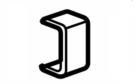 Накладка на стык крышки 20 DLPlus (033602)