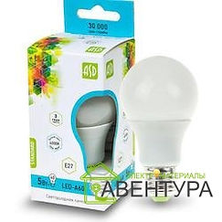 Лампа LED-A60-Standart 5Вт 220В Е27 4000К 400Лм  ASD
