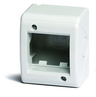 Коробка модульная настенная для электроустановочных изделий IP40 2 модуля (54640) VIVA