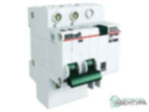 Выключатель автоматический дифференциальный АВДТ 2п 16А 100мА тип AC ДИФ-101 4.5кА