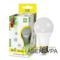 Лампа LED-A60-Standart 5Вт 220В Е27 3000К 400Лм  ASD