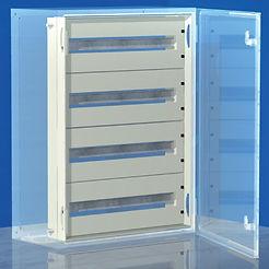 Панель для модулей, 64 (4 x 16) модуля, для шкафов CE, 600 x 400мм R5TM64