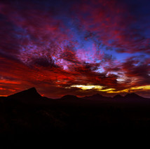 A Stirling Sunset