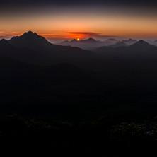 Sunset over the Stirling Ranges - Vol I.