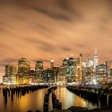 The Big Apple at Night - Dockside