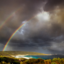 Rainbows in the Bay