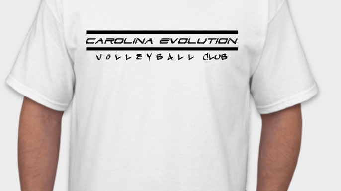 Evolution Tee-Shirt (White/Black)