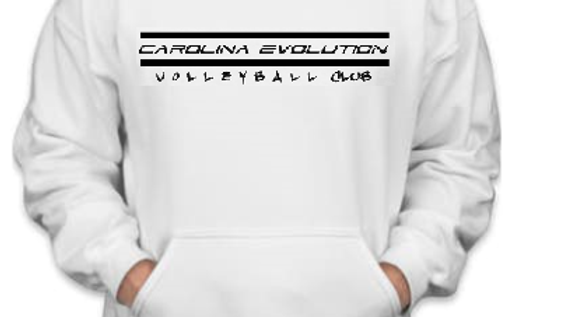 Evolution Hoodie (White/Black)