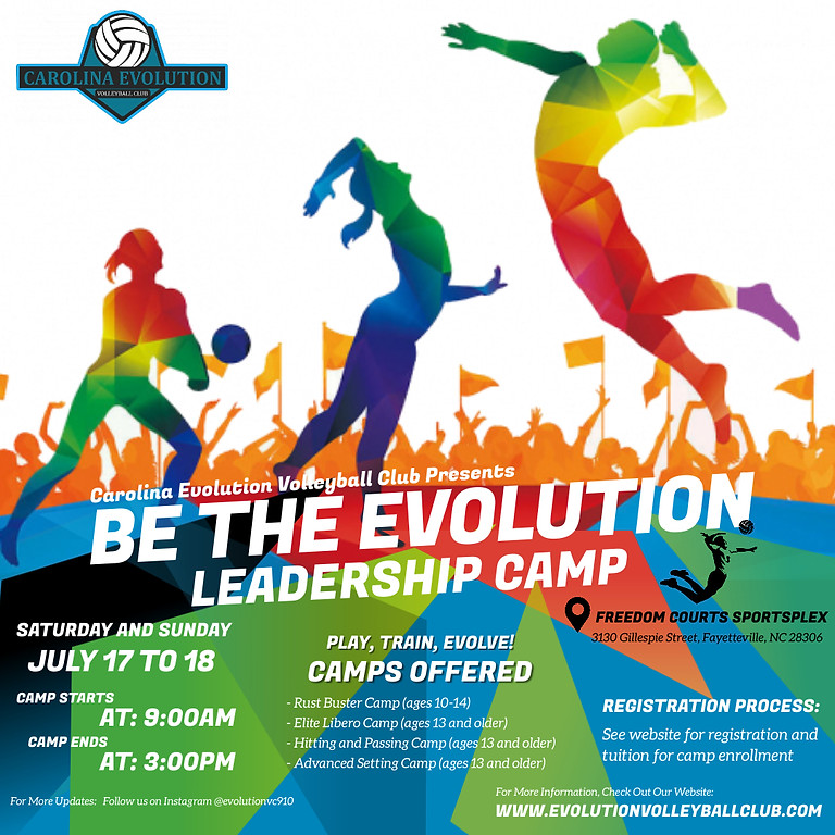 Be The Evolution: Leadership Camp