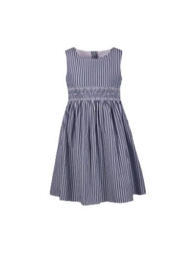 Happy Girl Kleid blau gestreift