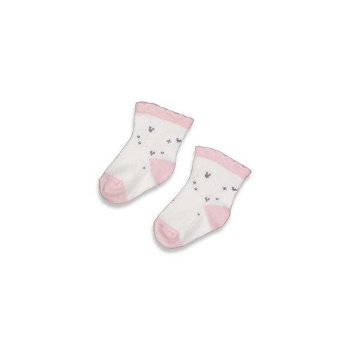 "Feetje Babysöckchen rosa ""Cutest Thing Ever"""