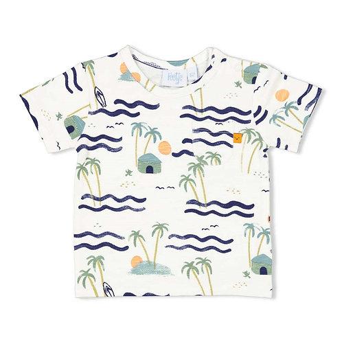"Feetje T-Shirt ""Palmen"""