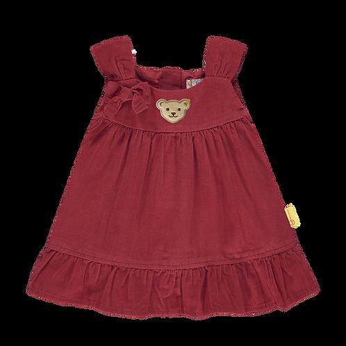 Steiff Kleid rot