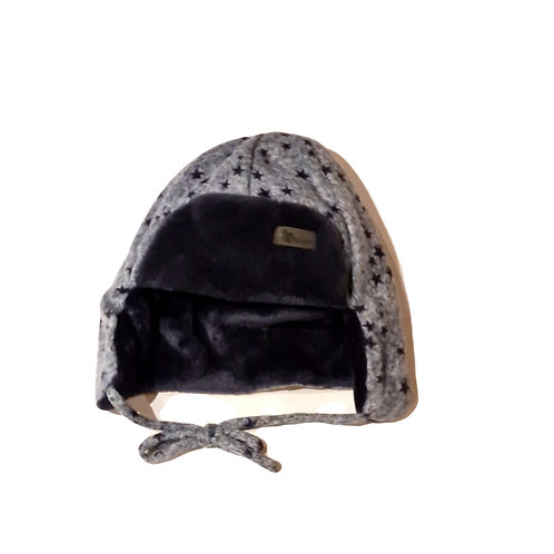 Sterntaler Flieger-Mütze dunkelblau