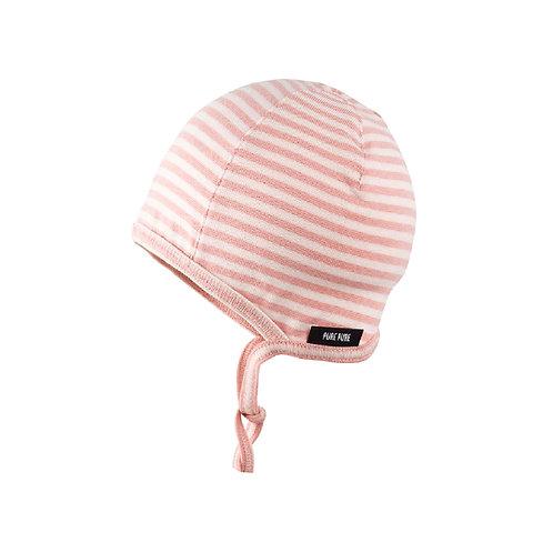 Pure Pure Erstlingsmütze rosa o. blau