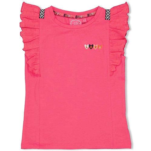 """Jubel by Feetje  T-Shirt pink """"Woopsie Daisy"""""""