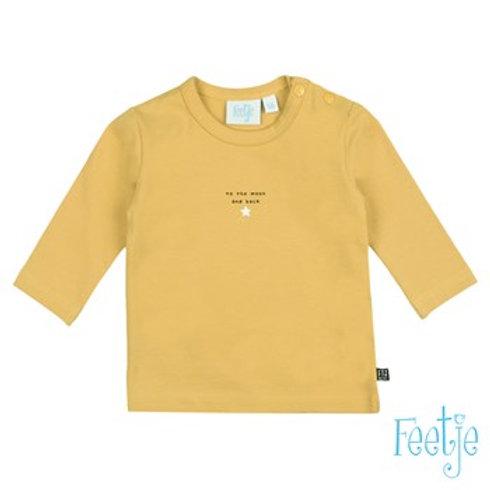 Feetje Langarm-Shirt gelb