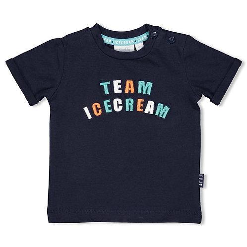 "Feetje T-Shirt ""TEAM ICECREAM"" marine"