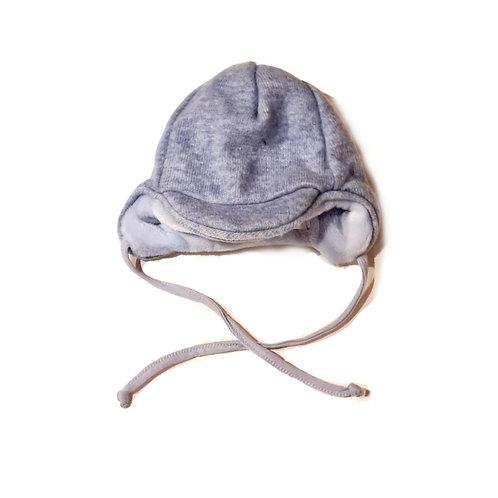Sterntaler Baby-Wintermütze, Schirmmütze hellblau