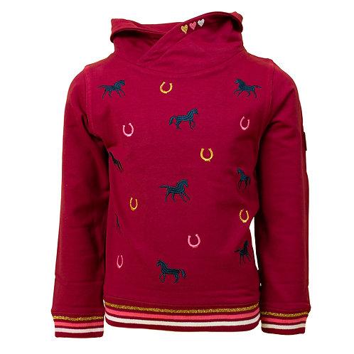 Salt and Pepper Sweatshirt Pferde