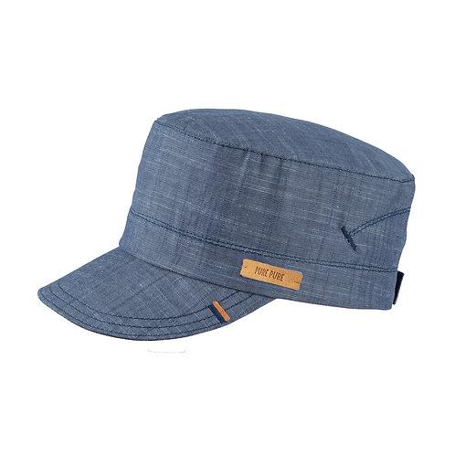 Pure Pure Sonnenhut Schirmmütze jeansblau
