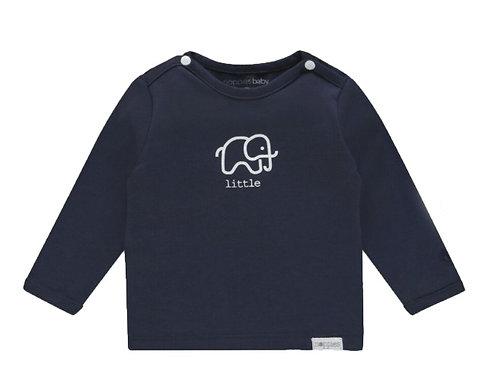 Baby Shirt Noppies blau Elefanten