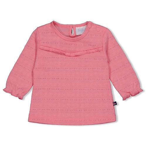 Feetje Longshirt pink