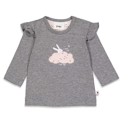 "Feetje Shirt grau Wolke ""Cutest Thing Ever"""