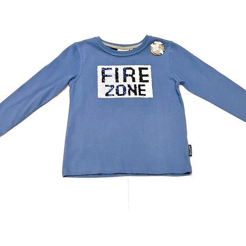 Salt and Pepper Shirt Feuerwehr Wendepailetten blau