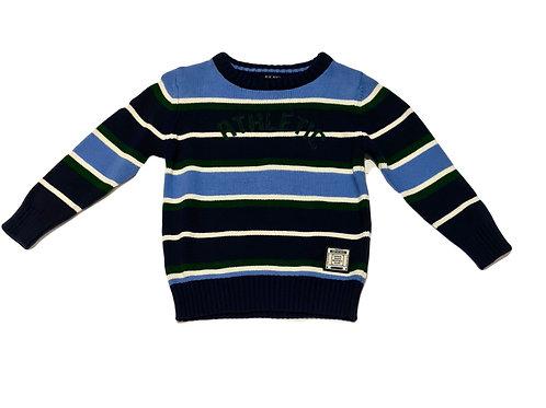 Strick Pullover Blue Seven