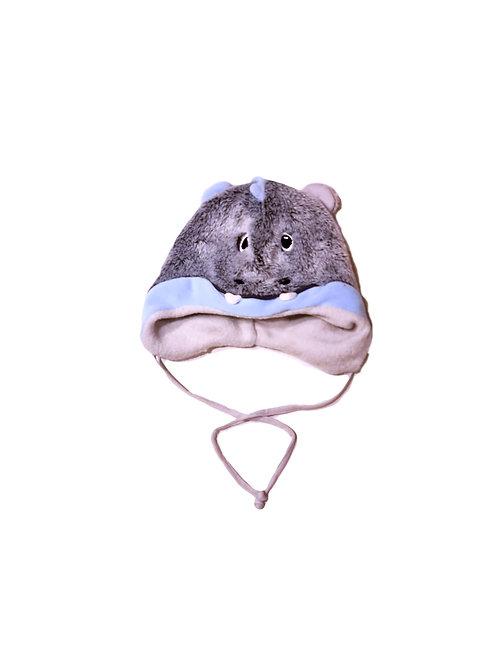 Sterntaler Babymütze Kleiner Drache grau blau