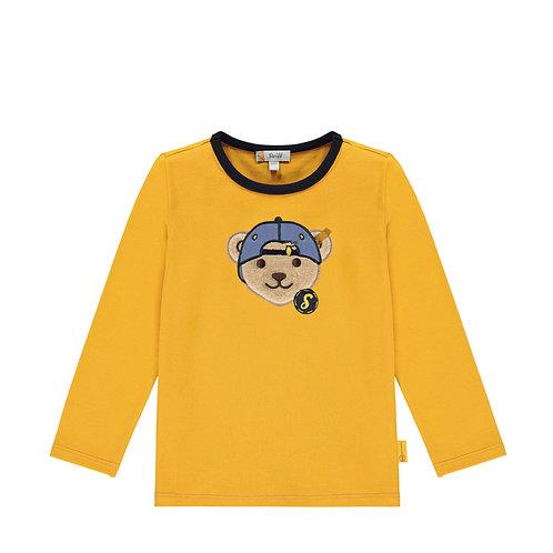 Steiff Langarm Shirt gelb
