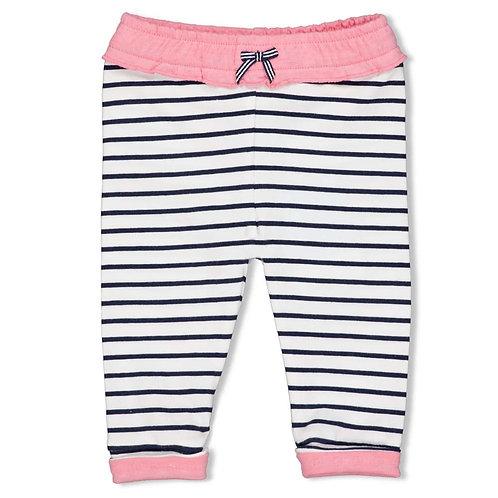 Feetje Hose blau pink