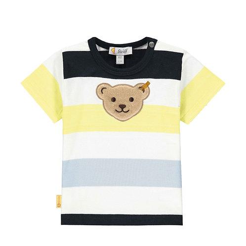 Steiff T-Shirt Streifen navy