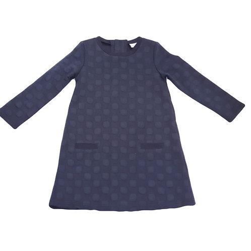 Happy Girls Kleid blau Punkte