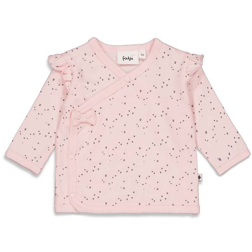 """Feetje Wickelshirt rosa """"Cutest Thing Ever"""""""