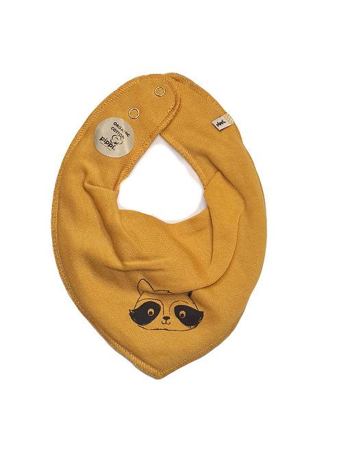 Halstuch  von pippi Waschbär gelb