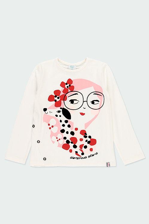 Boboli Shirt Creme Mädchen