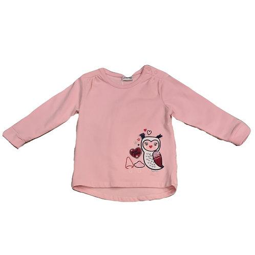 Salt and Pepper Sweatshirt Eule rosa