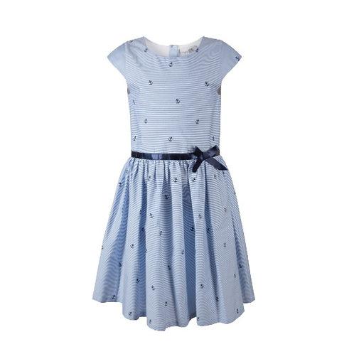 Happy Girl Kleid blau maritim