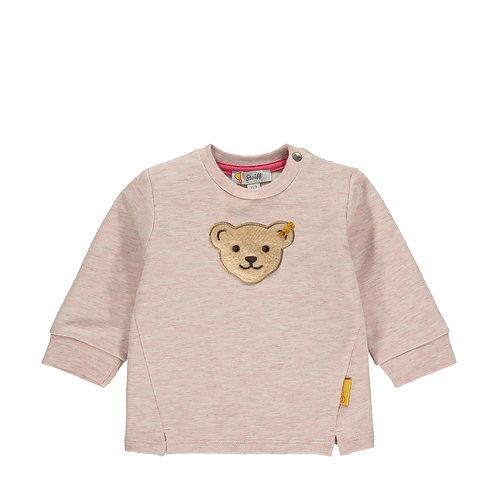 Steiff Sweatshirt rosa glitzer