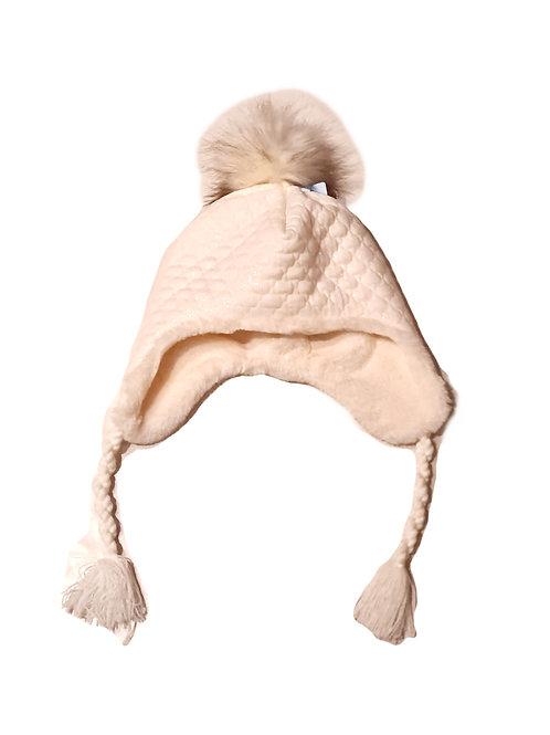 Sterntaler Inka- Mütze cremweiß, glitzer