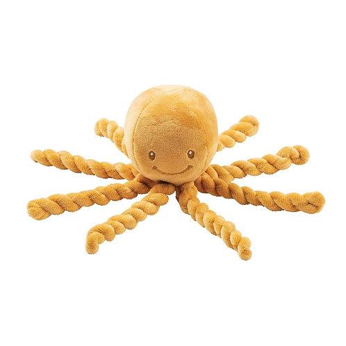 Nattou Octopus plüsch gelb