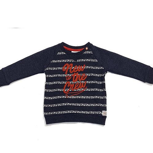 Feetje Sweatshirt blau/weiß/rot