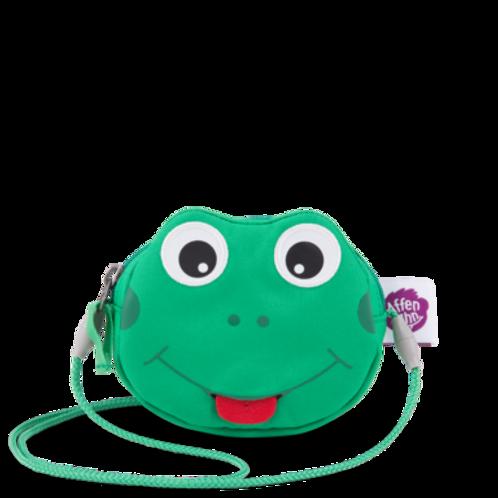 Affenzahn Portemonnaie Umhängetasche Frosch