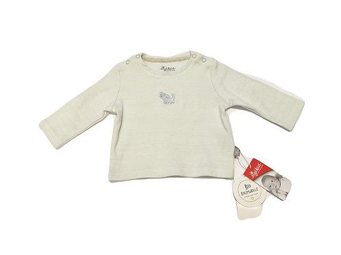 Siggikid Shirt New Born hellblau Hund gr. 62