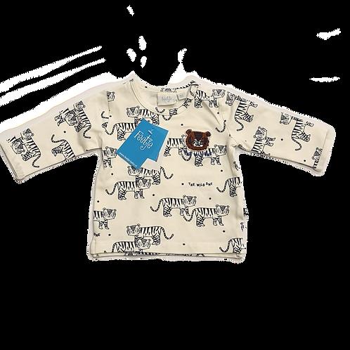Feetje Shirt blau weiß Tiger