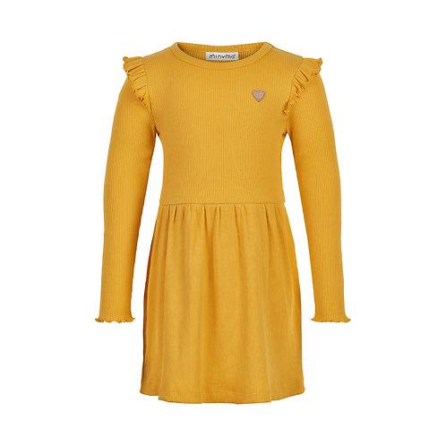 Minymo Kleid gelb